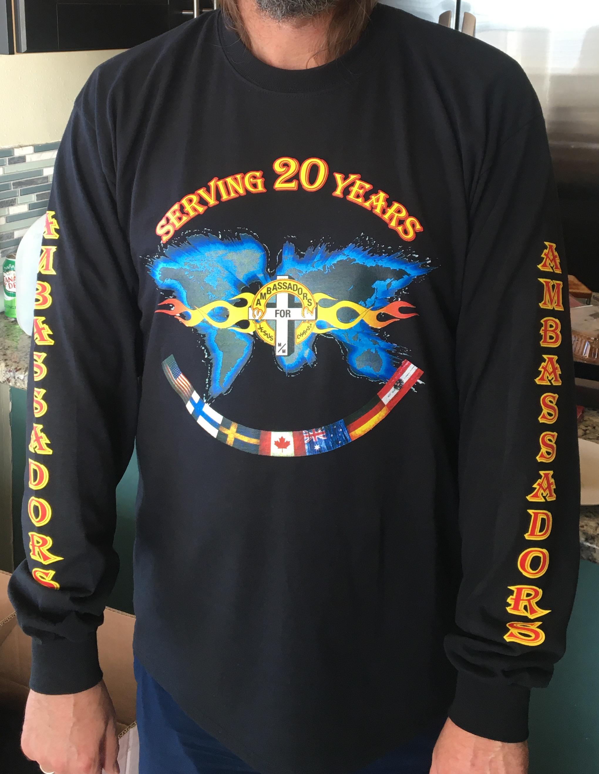 20 year shirt